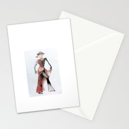 Wicked art lady Stationery Cards