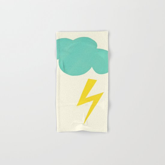Lightning Strike Hand & Bath Towel