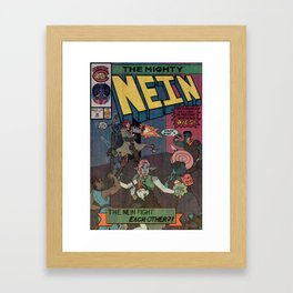 Critical Role Comics - The Might Nein #12 Cover Framed Art Print
