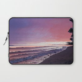 Maui Sunset Pixel Sort Laptop Sleeve