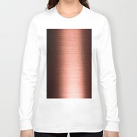 copper Long Sleeve T-shirts featuring Copper by Robin Curtiss