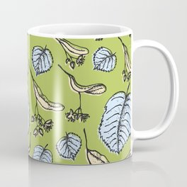 Linden pattern in sring colors Coffee Mug