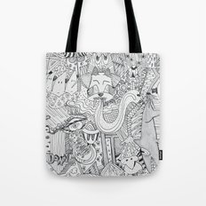 Monsters In My Closet Tote Bag