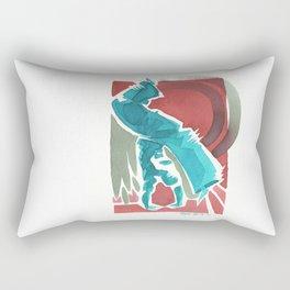 Capoeira 434 Rectangular Pillow