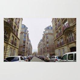 Paris street downtown Rug