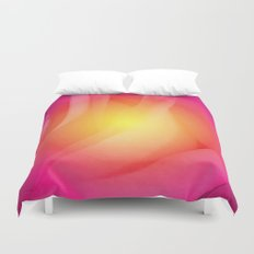 Abstract Rose  Duvet Cover
