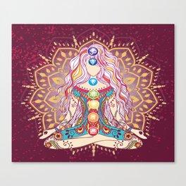 Balanced Chakras 1 Canvas Print