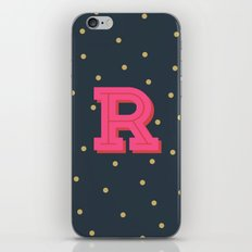 R is for Rad iPhone & iPod Skin