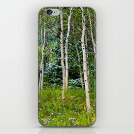 Etherial Aspen iPhone Skin