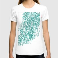 coral T-shirts featuring Coral  by LindsayMichelle