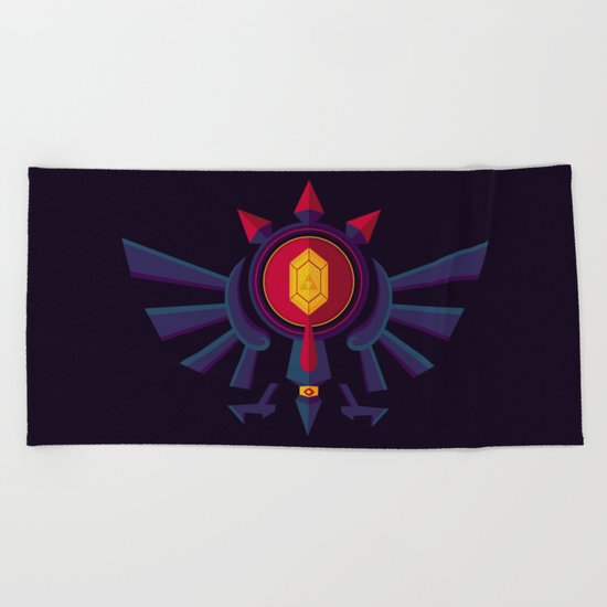 An Eye for the Truth Beach Towel
