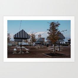 Magnolia-Alico View Art Print