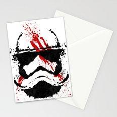 Stormtrooper Ink Blot - Finn Stationery Cards