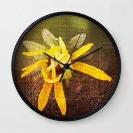 Shy Black Eyed Susan Wall Clock