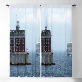New London Ledge Lighthouse Blackout Curtain