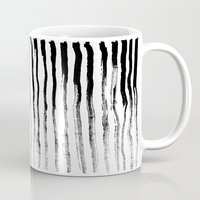 stripe Mugs featuring Stripe by Jack Newbury