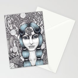 Maiden of Midgard Stationery Cards