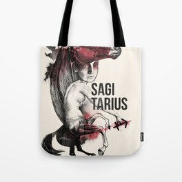 Zodiac serie: Sagittarius Tote Bag