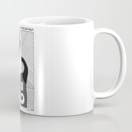 Love Embracing the Possibilities of Itself / 1991: The Booth Philosopher Series Coffee Mug