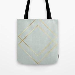 Golden squares Tote Bag