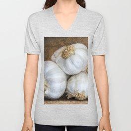 Garlic Bulbs Unisex V-Neck