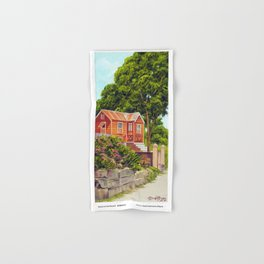 House on the Mound BARBADOS Hand & Bath Towel
