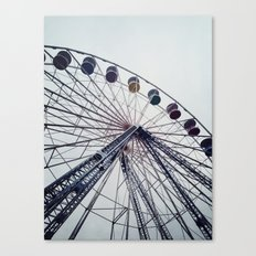 the big wheel Canvas Print