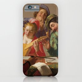 Gerard van Honthorst - The Concert iPhone Case