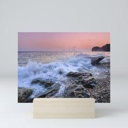 La Joya beach. Mini Art Print