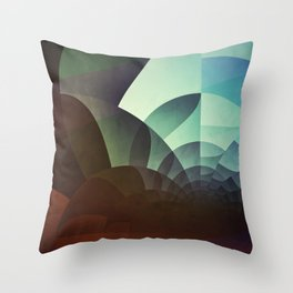 spyyryl yyt Throw Pillow