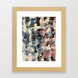 Venetian Grid Framed Art Print