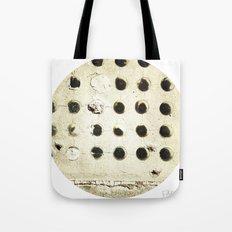 Cement Circles Tote Bag