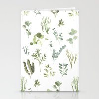 plants Stationery Cards featuring Plants  by Maggie Chiang