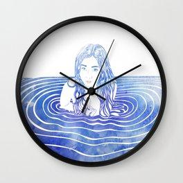 Water Nymph LIII Wall Clock
