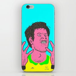 Table Tennis Mad Part 2 iPhone Skin