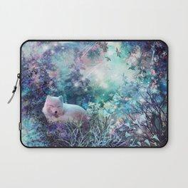 sleeping fox, enchanted dreams Laptop Sleeve