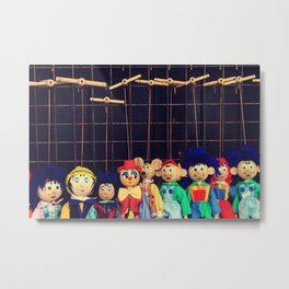 Marionettes Metal Print