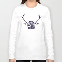 into the wild Long Sleeve T-shirts featuring wild by The Junkers
