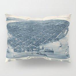 Map Of Key West 1884 Pillow Sham