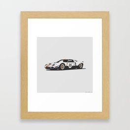 Ford GT40 Framed Art Print
