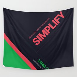 SIMPLIFY #7 Wall Tapestry