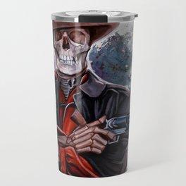 The Gunslinger - Dia De Los Muertos Travel Mug