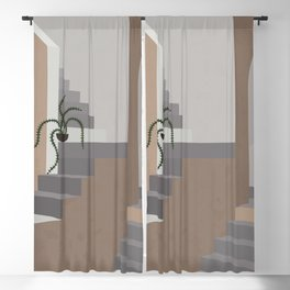 Stairs & Arc Blackout Curtain