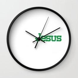 Jesus Is My Lifeline Holy Faith Hope Jesus Gift Wall Clock