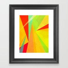 Color Life Framed Art Print