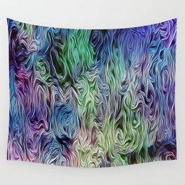 Turquoise Of Pastel Wall Tapestry