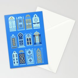 Moroccan Doors – Cornflower Blue Palette Stationery Cards