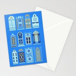 Moroccan Doors – Cornflower Blue Palette Stationery Cards