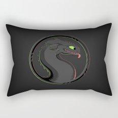 Dragon Kombat Rectangular Pillow