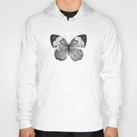 butterfly Hoodies featuring Butterfly by Hermes_GC